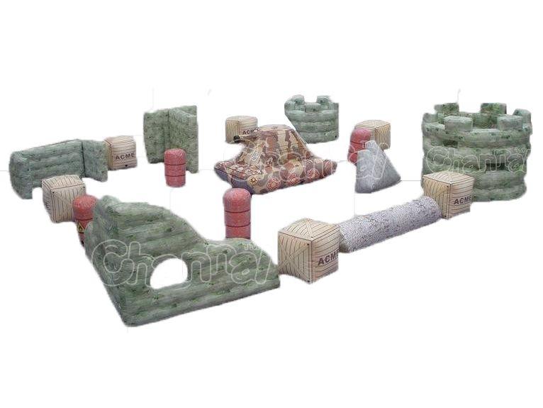 bunker de batalla inflable