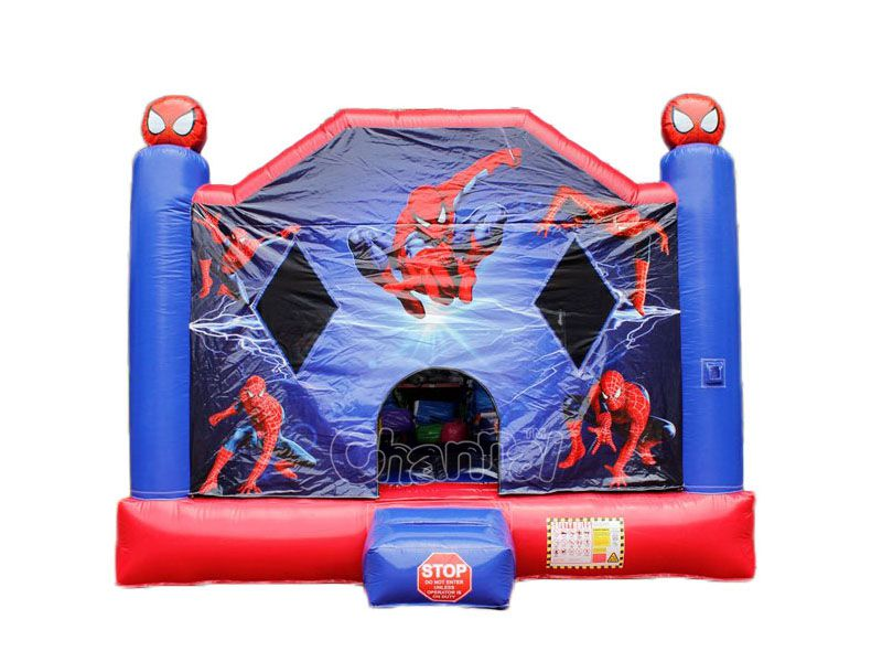 brincolin castillo inflable spider-man