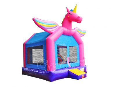 brincolin inflable unicornio