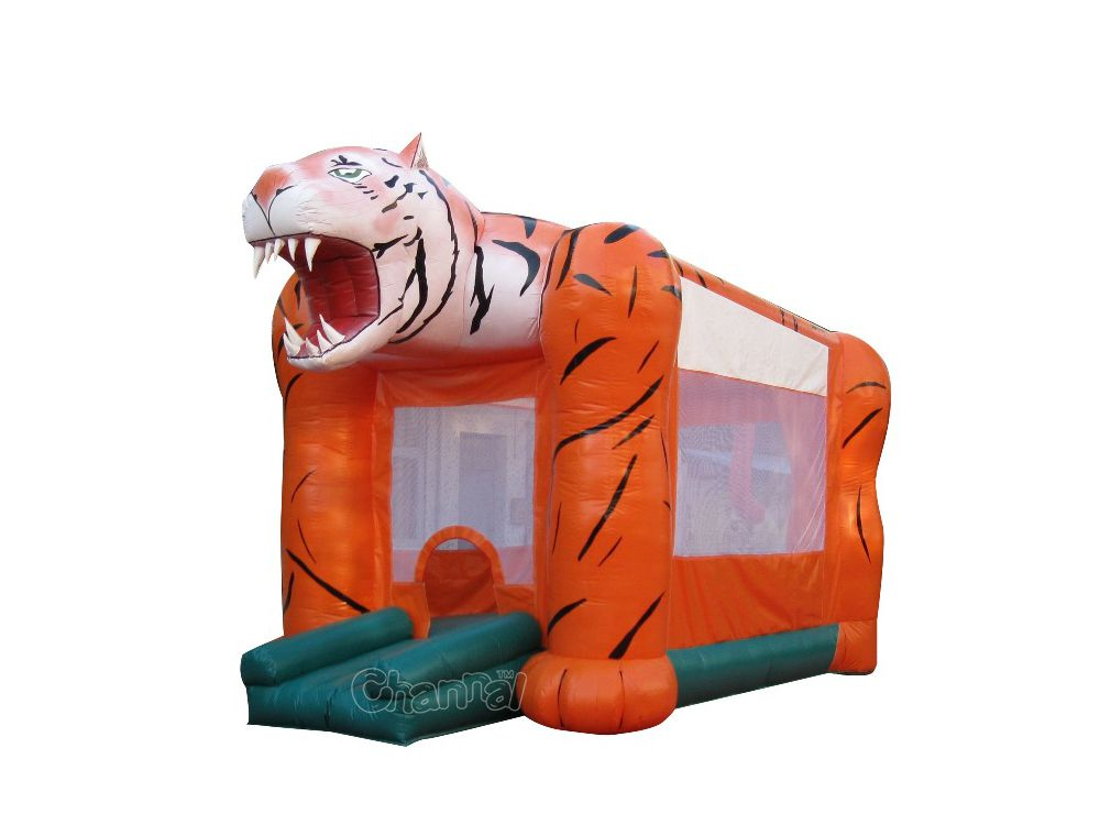 tigre brincolin inflable