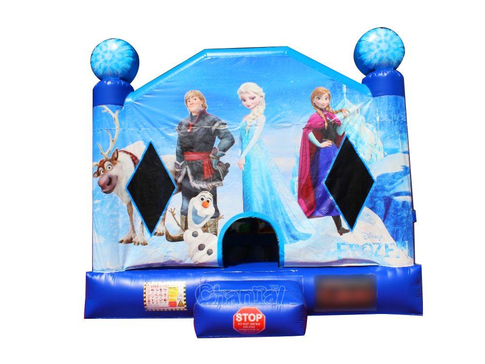 brincolín inflable frozen