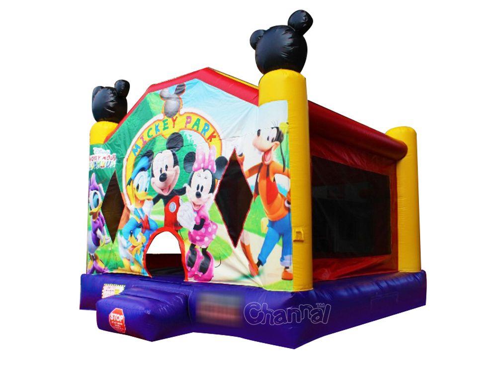 brincolín casa de mickey mouse inflable