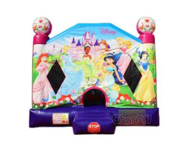 castillo inflable princesa rosa