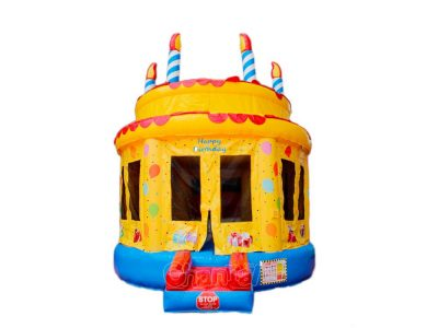 castillo pastel de cumpleaños inflable