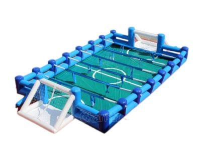 juego inflable futbolito humano