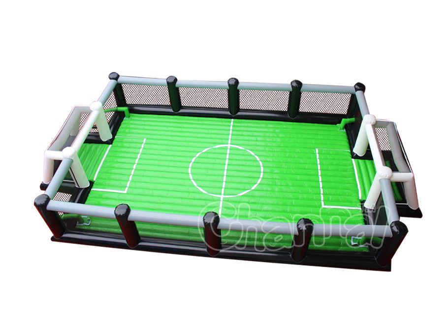 estadio de futbol inflable