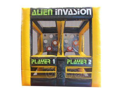 juego de disparos invasión alienígena
