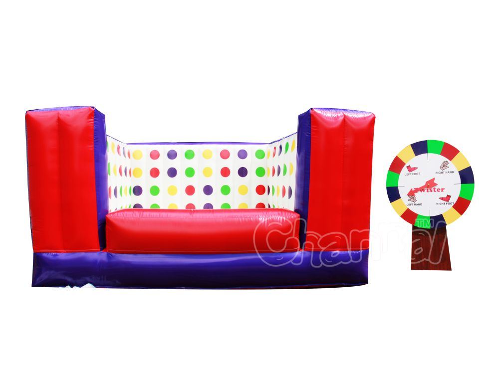 juego twister inflable