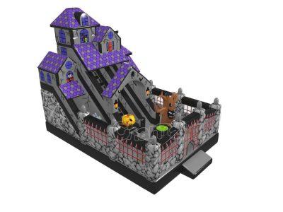 tobogan casa embrujada