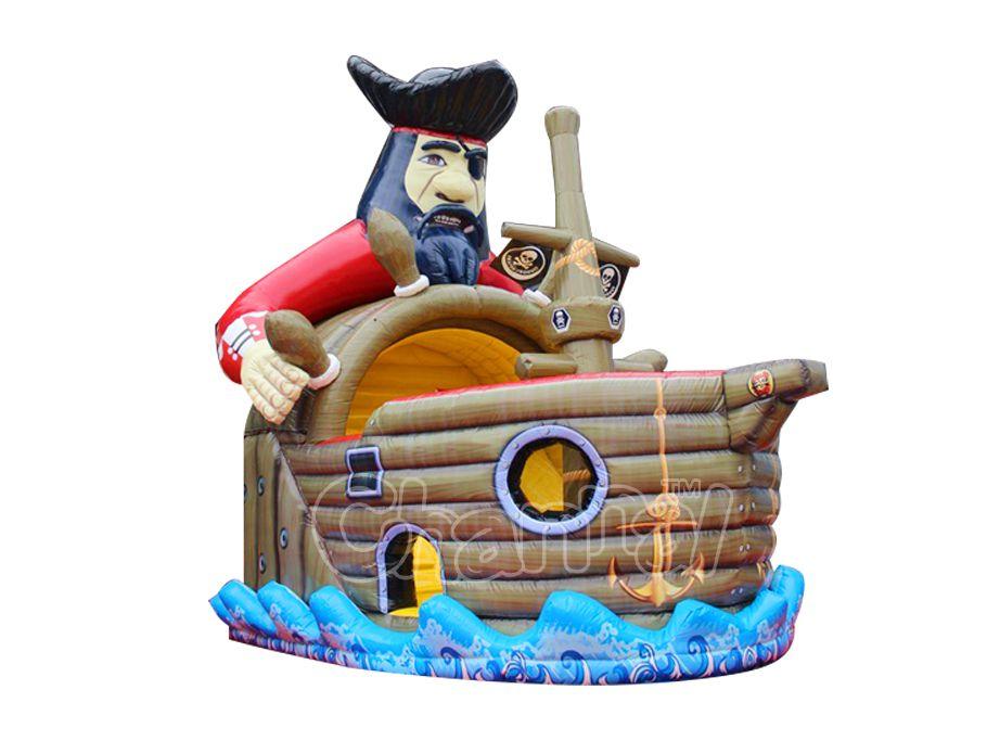 tobogan capitán de barco pirata